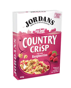 Jordans Country Crisp Raspberries (2 X 500 gm) - Sanadeeg