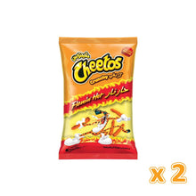 Cheetos Flamin' Hot Crunchy (2 X 205 gm) - Sanadeeg