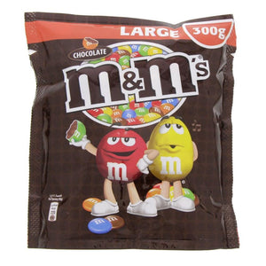 M&M's Milk Chocolate In Sugar Shell Large (300 gm)