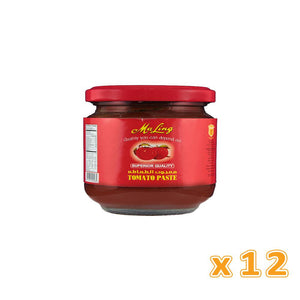 MaLing Tomato Paste in glass jars (12 X 205 gm) - Sanadeeg