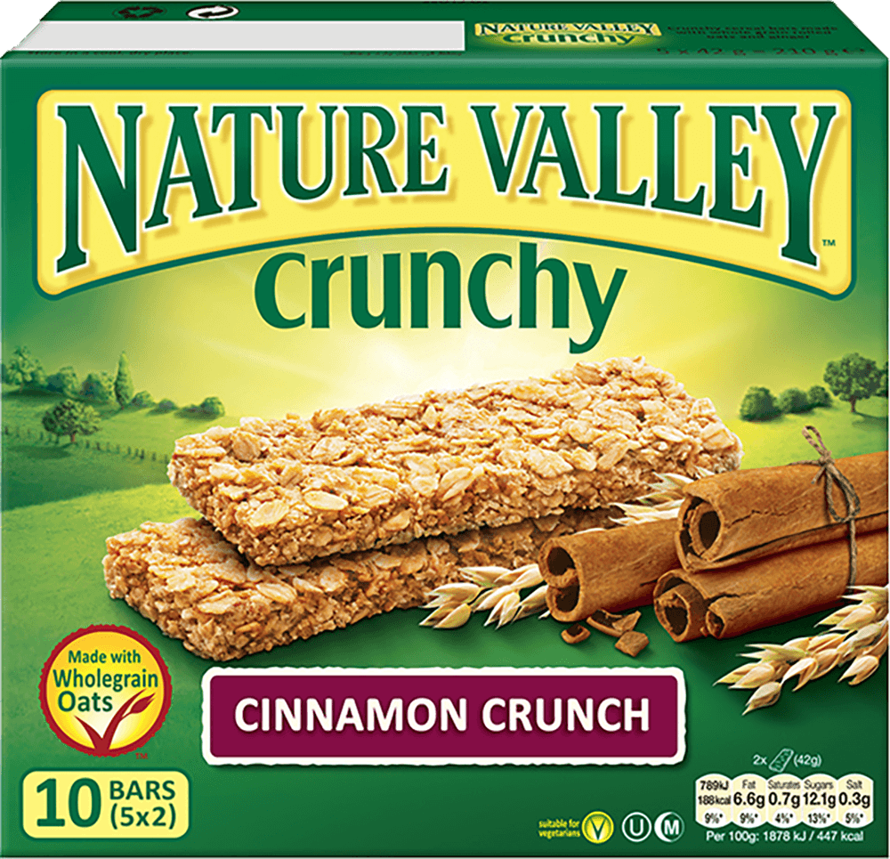 Nature Valley Crunchy Granola Bars - Cinnamon Crunch (12 Bars) - Sanadeeg