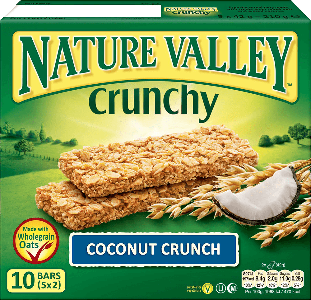 Nature Valley Crunchy Granola Bars - Coconut Crunch (12 Bars) - Sanadeeg