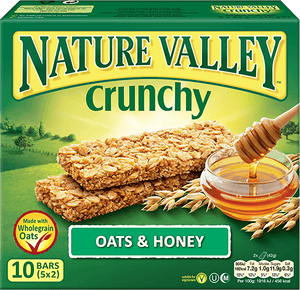 Nature Valley Crunchy Granola Bars - Oats & Honey (12 Bars) - Sanadeeg