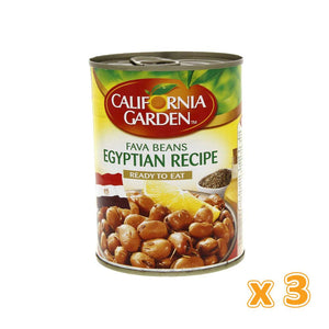 California Garden - Foul Egyptian Recipe (3 X 450 gm) - Sanadeeg