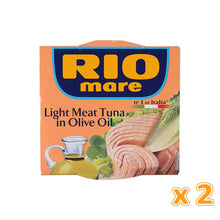 Rio Mare Light Meat Tuna in Olive Oil (2 X 160 gm) - Sanadeeg
