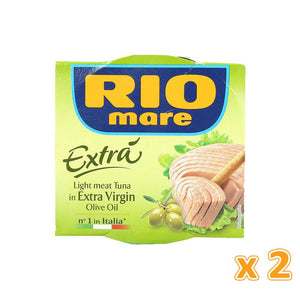 Rio Mare Light Mean Tune in Extra Virgin Olive Oil (2 X 160 gm) - Sanadeeg