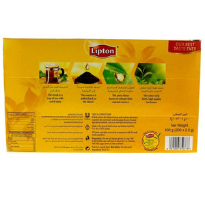 Lipton Yellow Label Tea Bags (200 Bags) - Sanadeeg