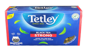 Tetley Black Tea - Strong (200 Bags) - Sanadeeg