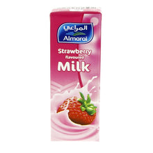 Almarai Strawberry Flavoured Milk 200 Ml (6 pack) - Sanadeeg