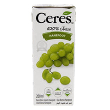 Ceres 100% White Grape Juice (6 X 200 ml) - Sanadeeg