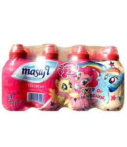 Masafi Water - My Little Pony (12 X 200 ml) - Sanadeeg