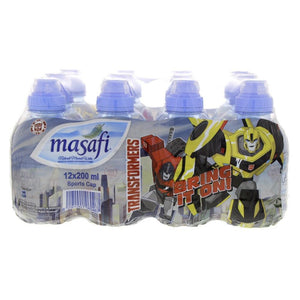 Masafi Water - Transformers (12 X 200 ml) - Sanadeeg