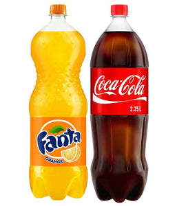 Coca Cola + Fanta Bundle Offer (2.25 X 2) - Sanadeeg