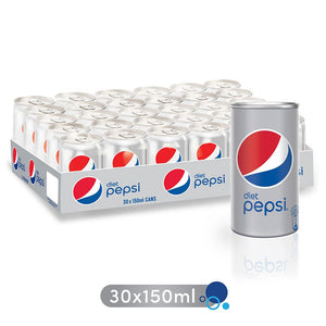 Diet Pepsi Can (30 X 150 ml) - Sanadeeg
