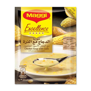 Maggi Excellence Chicken Soup With Corn (10 pack) - Sanadeeg