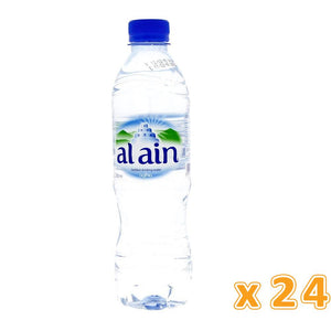 Al Ain Bottled Drinking Water (24 x 500 ml) - Sanadeeg