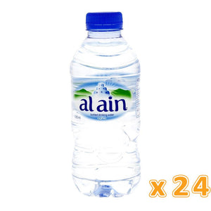 Al Ain Bottled Drinking Water (24 x 330 ml) - Sanadeeg