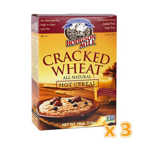 HODGSON MILL - Cracked Wheat (3 X 510 gm) - Sanadeeg