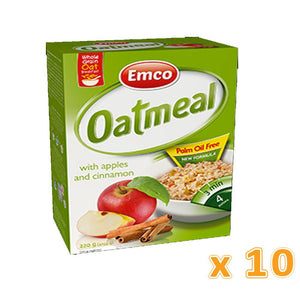 EMCO - Expres Oat Meal with Apple and Cinnamon (Case of 10) - Sanadeeg