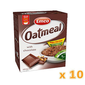 EMCO - Expres Oat Meal with Chocolate (Case of 10) - Sanadeeg