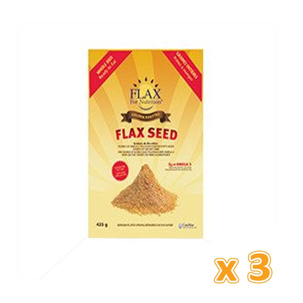 Canmar - Golden Roasted Flaxseed (3 X 425 gm) - Sanadeeg