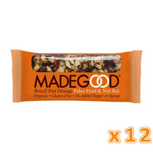 MADEGOOD Brazil Nut Orange Raw Fruit & Nut Bar (12 bars) - Sanadeeg