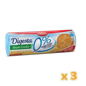 DIGESTA MARIE COOKIE  0% SUGARS ADDED (3 X 200 gm) - Sanadeeg
