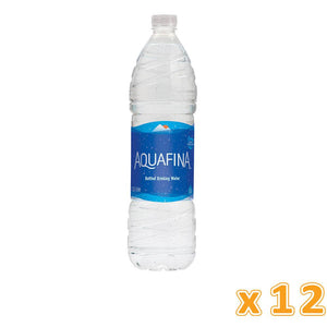 Aquafina Bottled Drinking Water (12 X 1.5 L) - Sanadeeg