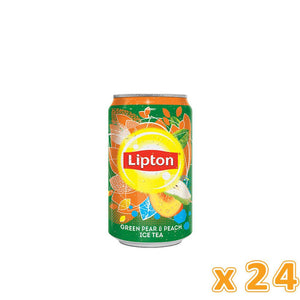 Lipton Ice Tea - Peach & Pear (24 X 320 ml) - Sanadeeg