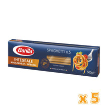 Barilla Whole Wheat Spaghetti (5 x 500 gm) - Sanadeeg