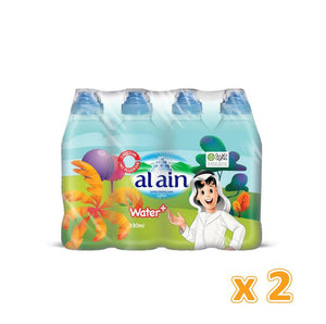 Al Ain Water+ with Calcium & Fluoride for Kids (24 x 330 ml) - Sanadeeg