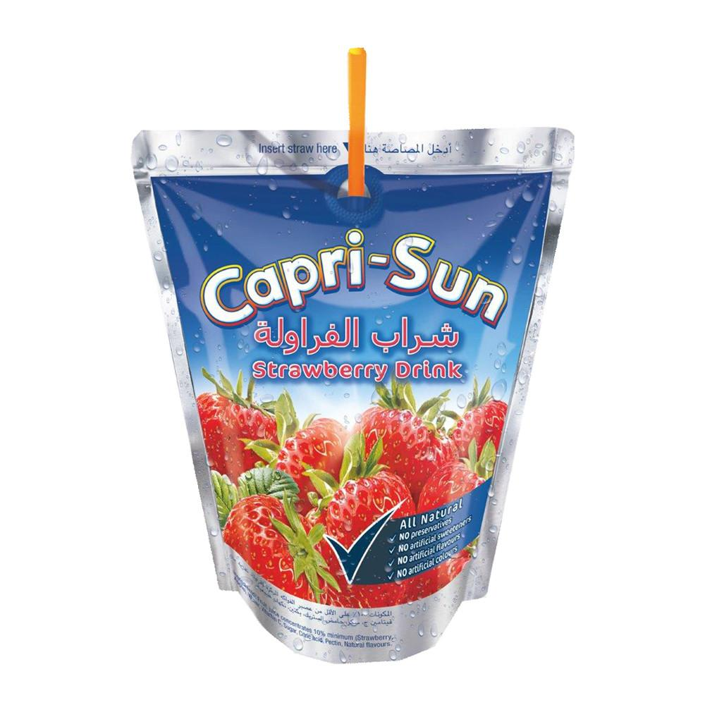 Capri Sun Strawberry Drink (10 X 200  ml) - Sanadeeg