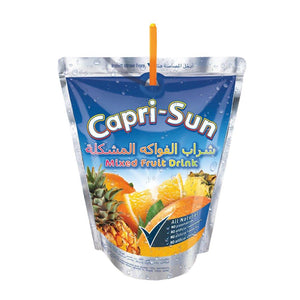 Capri Sun Mixed Fruit Drink (10 X 200  ml) - Sanadeeg