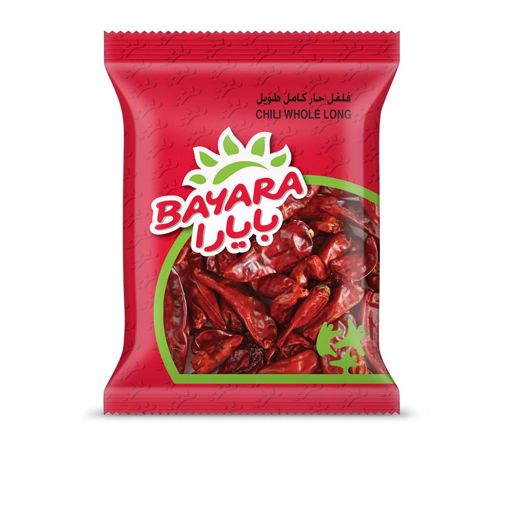BAYARA CHILI WHOLE LONG (100 gm) - Sanadeeg