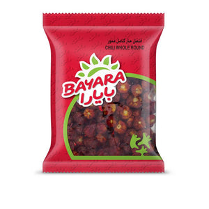 BAYARA CHILI WHOLE ROUND (100 gm) - Sanadeeg