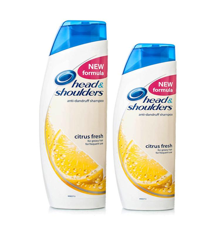 Head & Shoulders Anti-Dandruff Shampoo Citrus Fresh (600 ml + 400 ml Bundle) - Sanadeeg