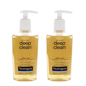 Neutrogena Deep Clean Facial Cleaner 200 ml (2 X 200 ml) - Sanadeeg