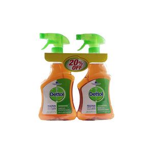 Dettol Liquid Surface Disinfictant Trigger (2 X 500 ml) - Sanadeeg