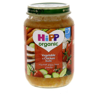 Hipp Organic Vegetable & Chicken Baby Food (190 GM) - Sanadeeg