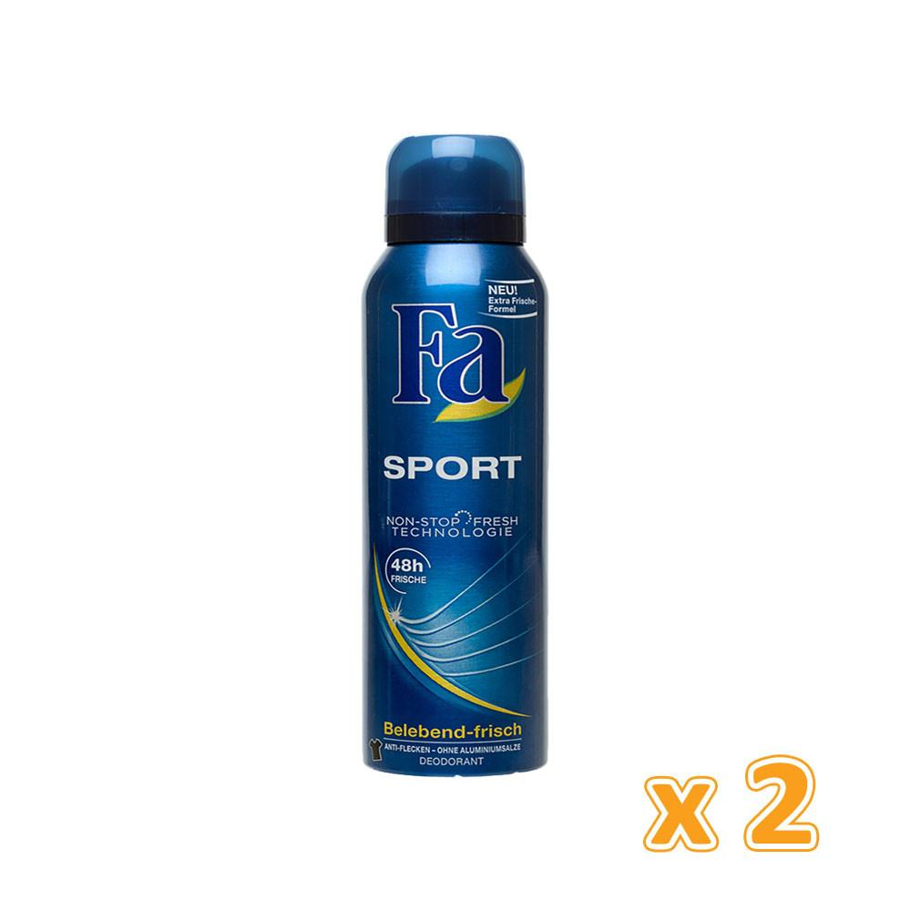 Fa Spray Deodorant - Sport (2 X 150 ml) - Sanadeeg