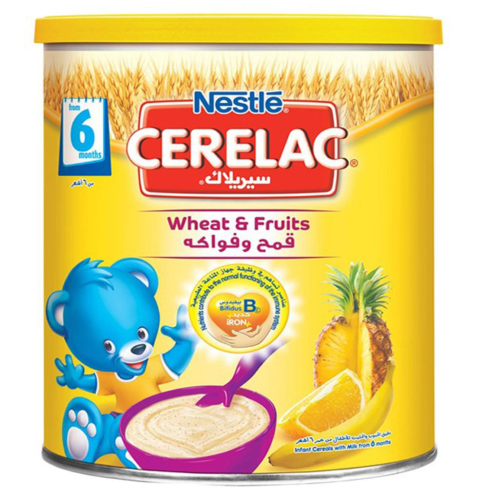 Nestle Cerelac Wheat And Fruits (1 Kg) - Sanadeeg