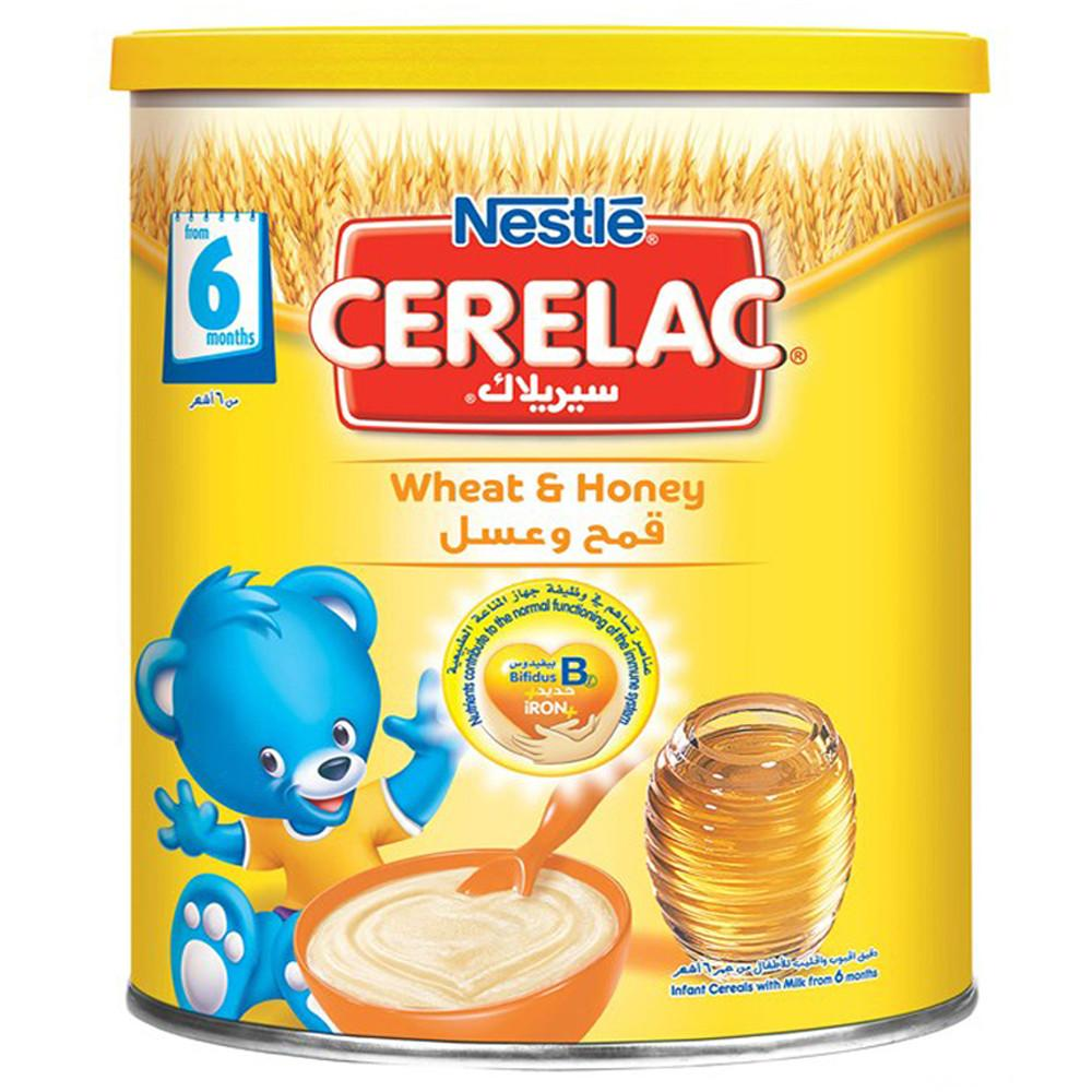 Nestle Cerelac Wheat And Honey (1 Kg) - Sanadeeg