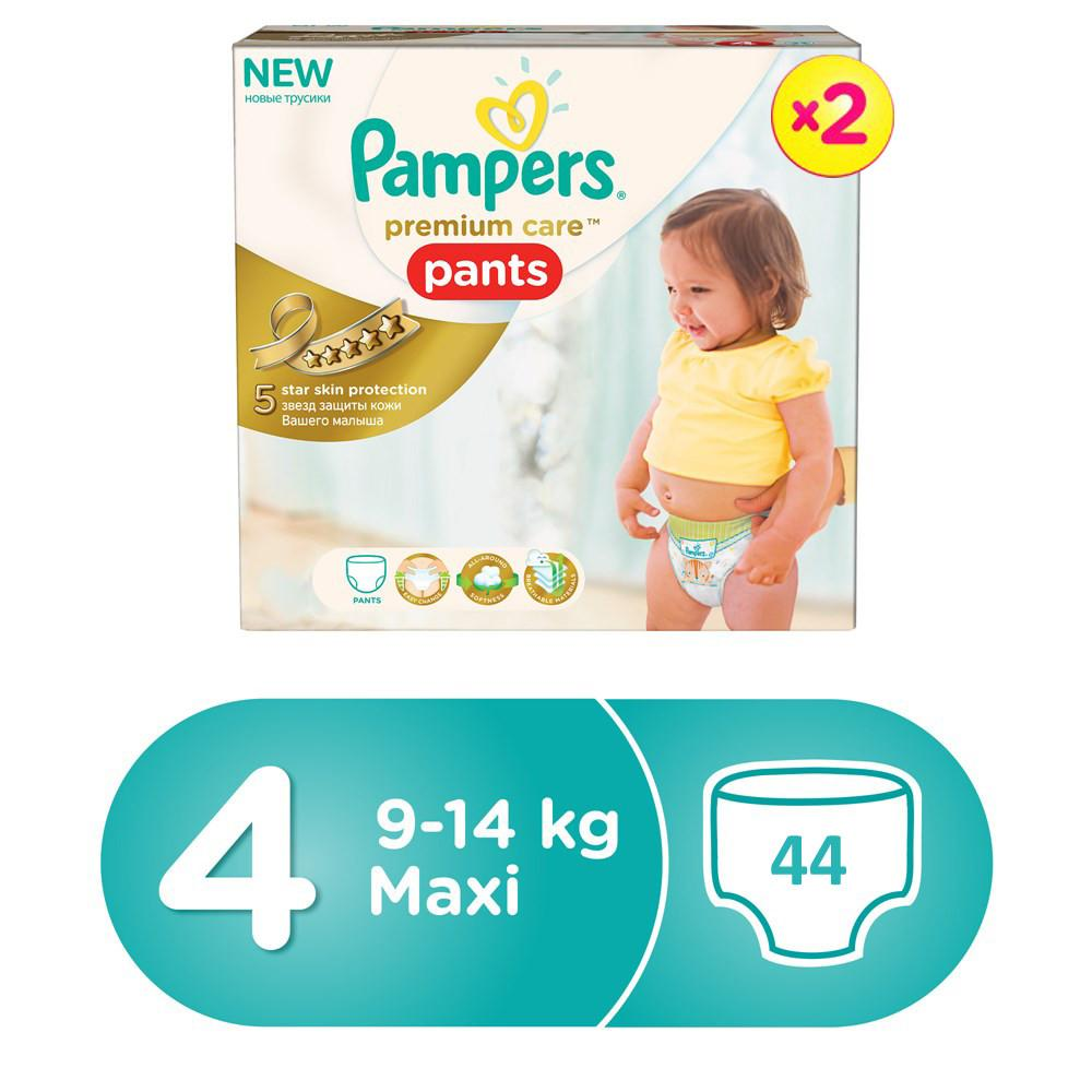 Pampers Premium Care Pants Diapers Size 4 (2X22) - Sanadeeg