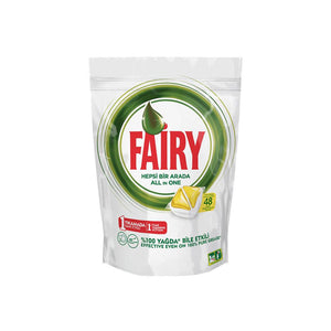 Fairy All in One Dishwasher Tabs (48 Pcs) - Sanadeeg