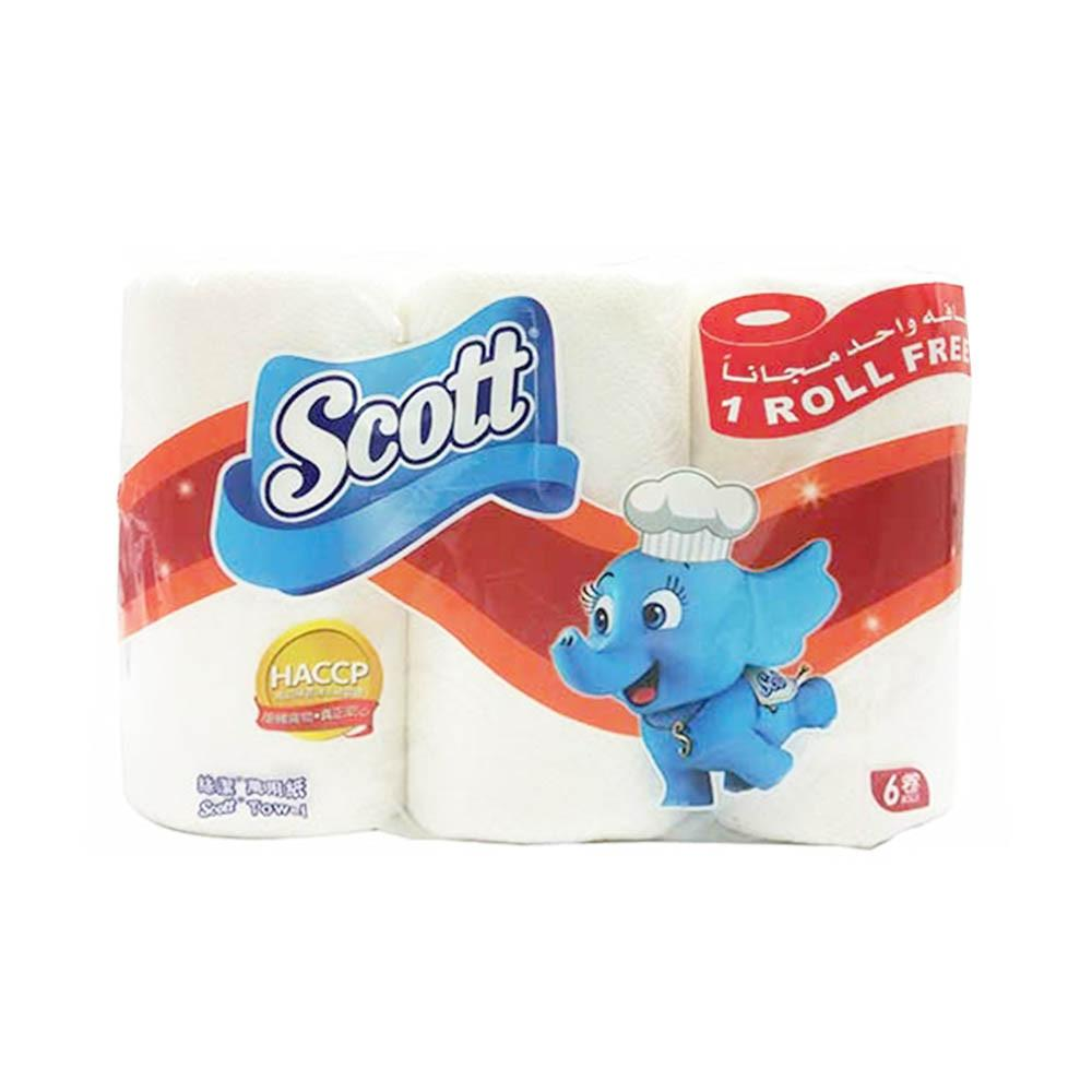 Scott Kitchen Towels (6 Rolls) - Sanadeeg