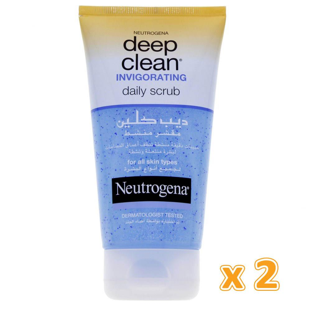 Neutrogena Deep Clean Invigorationing Scrub (2 x 150 ml) - Sanadeeg