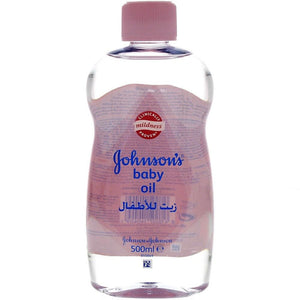 Johnson's Baby Oil (500 ml) - Sanadeeg
