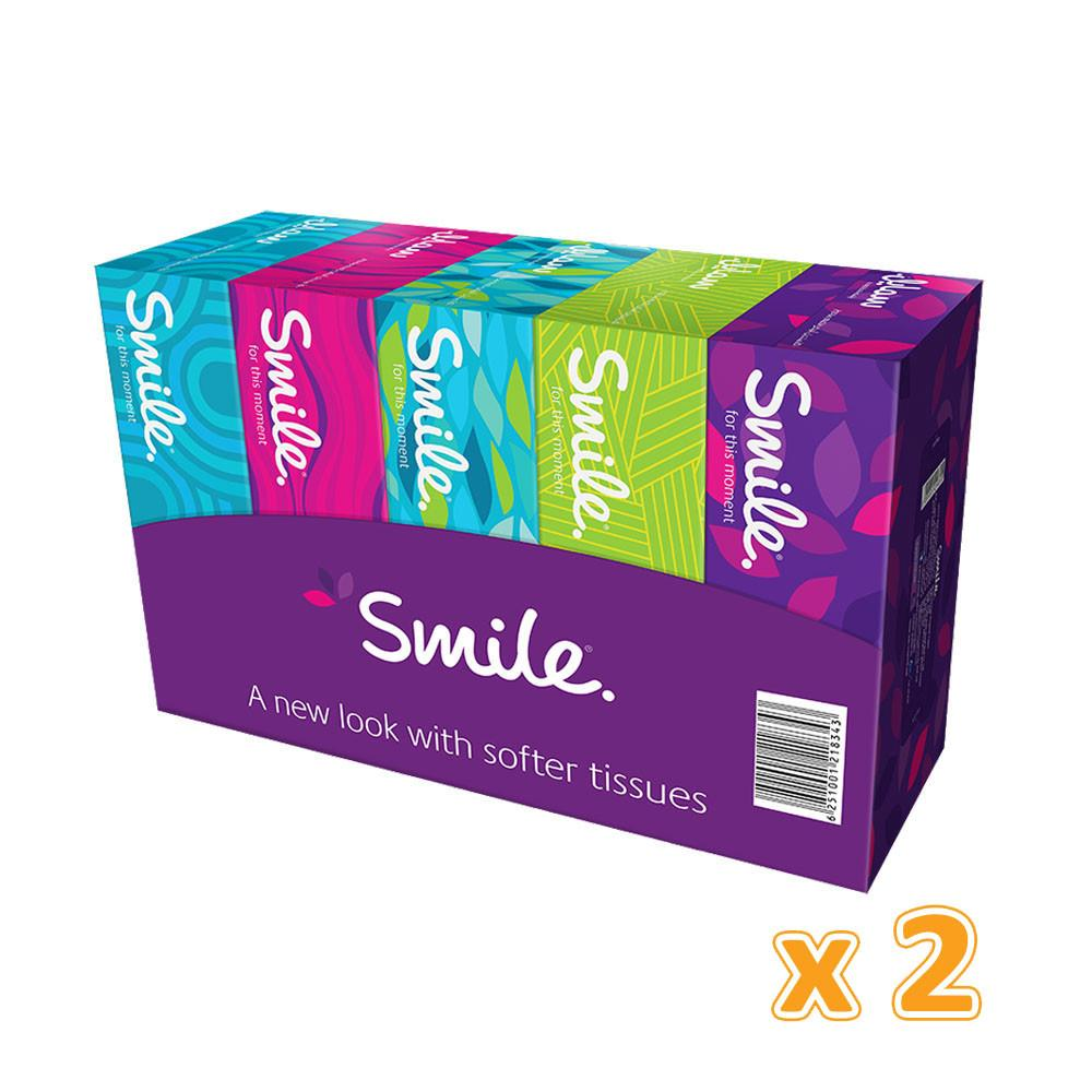 Facial Tissues NEW Smile - 2 PLY (10 X 150 Sheets) - Sanadeeg