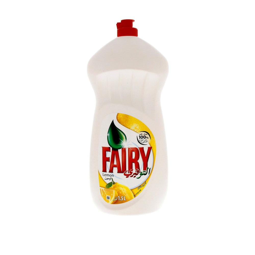 Fairy Dish Washing Liquid Lemon (1.5 L) - Sanadeeg