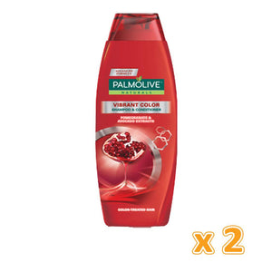 Palmolive Brillant Color Shampoo (2 x 350 ml) - Sanadeeg
